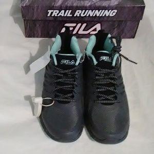NWT Womens Fila Trail Running Shoes. 8.5